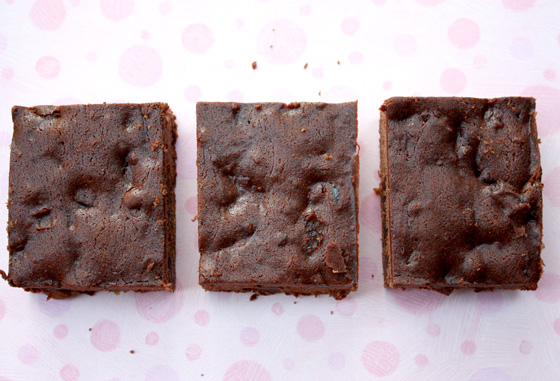Chocolate Date Fudge Brownies