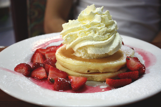 Strawberry Pancakes