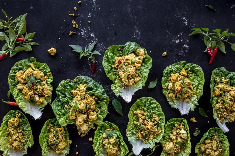 Vegan Scrambled Spice Eggs (Tofu And Turmeric) - Cook Republic