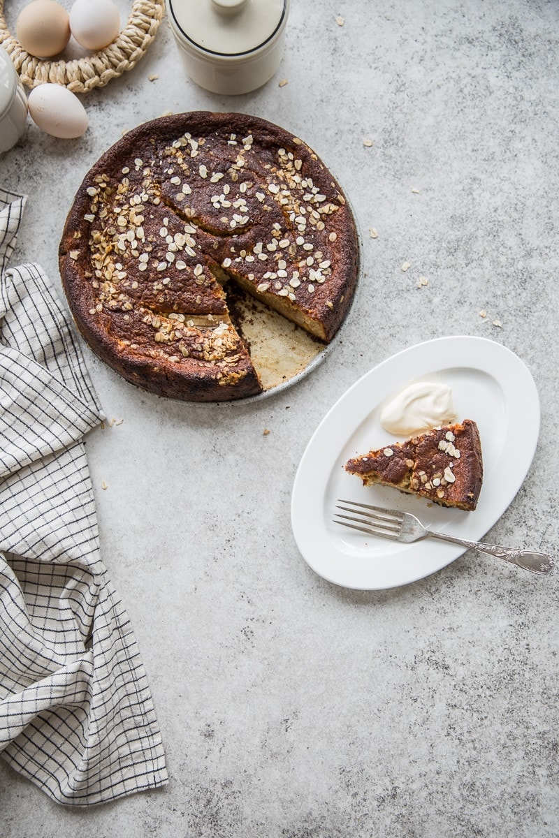 Spelt Banana Sour Cream Cake & Magimix Cook Expert - Cook Republic
