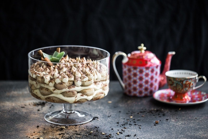 Chai Latte Tiramisu - Cook Republic / styling & photo, Sneh Roy