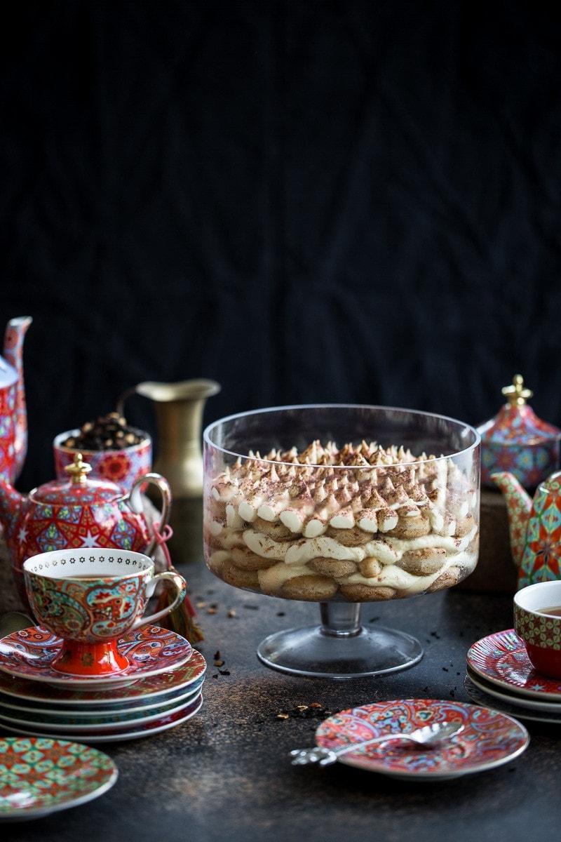 Chai Latte Tiramisu - Cook Republic / styling & photo, Sneh Roy