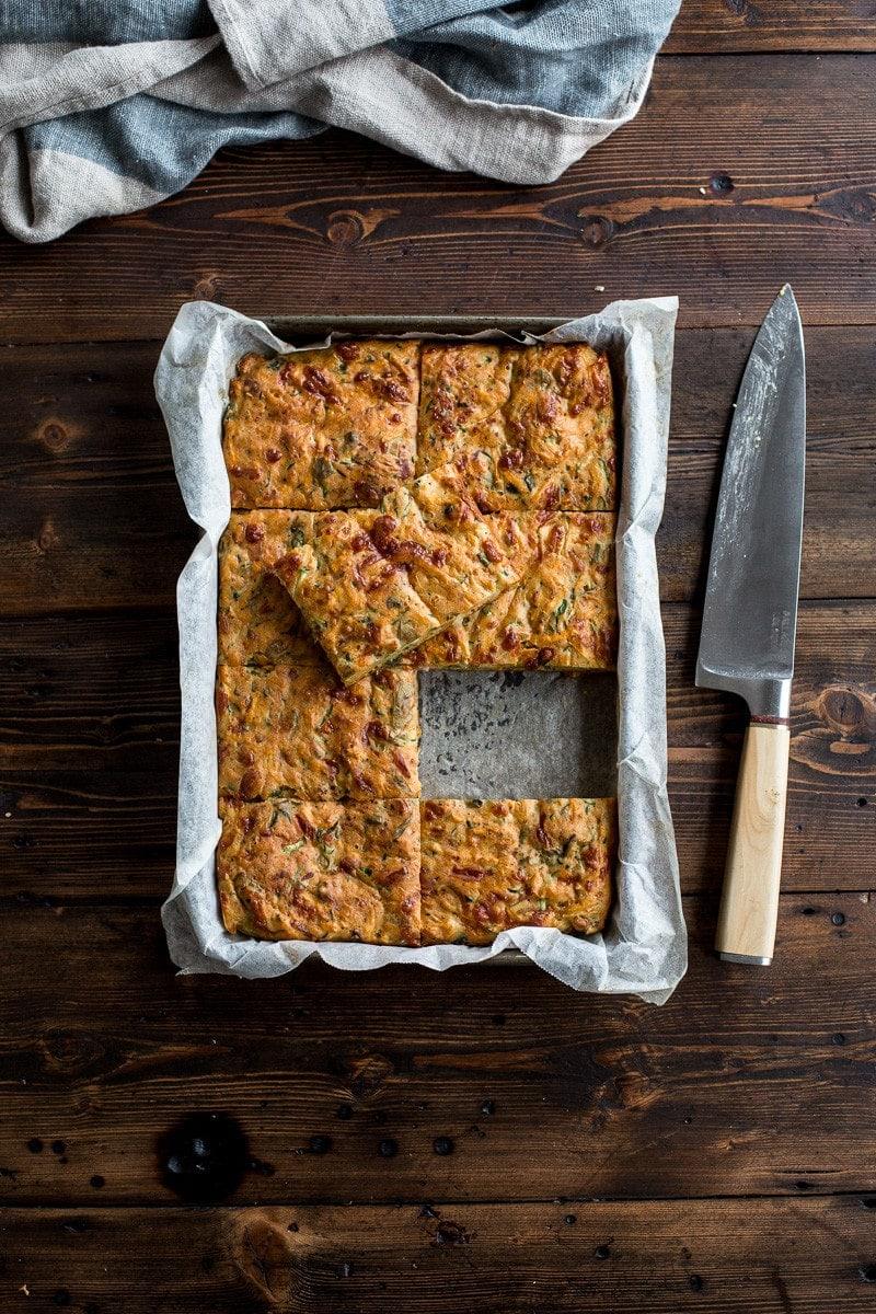 Zucchini And Sweet Potato Slice Cook Republic
