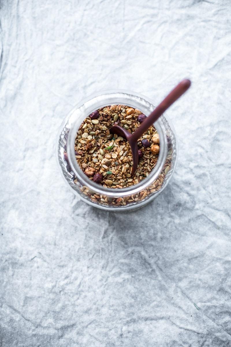 Savoury Granola - Cook Republic