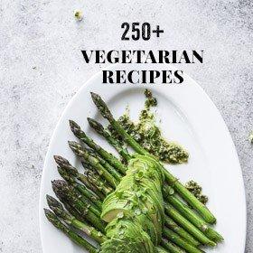 250 Vegetarian Recipes