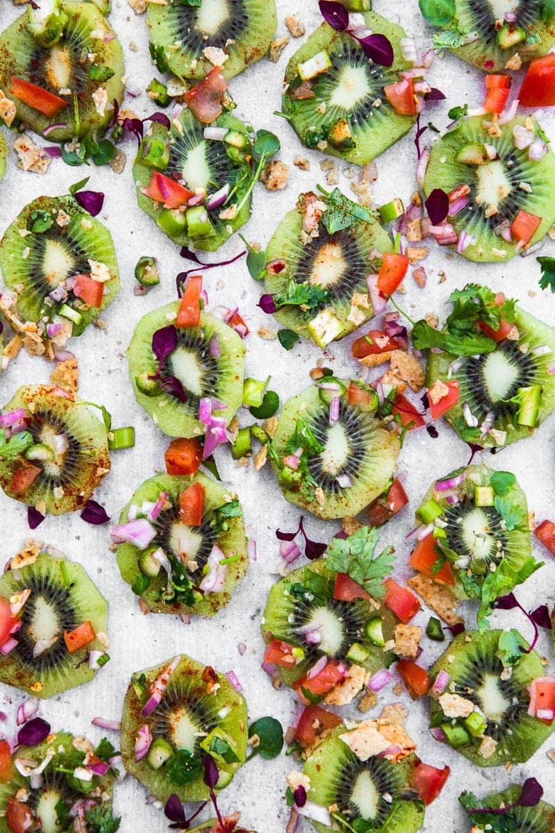 Raw Kiwi Fruit Nachos - Cook Republic