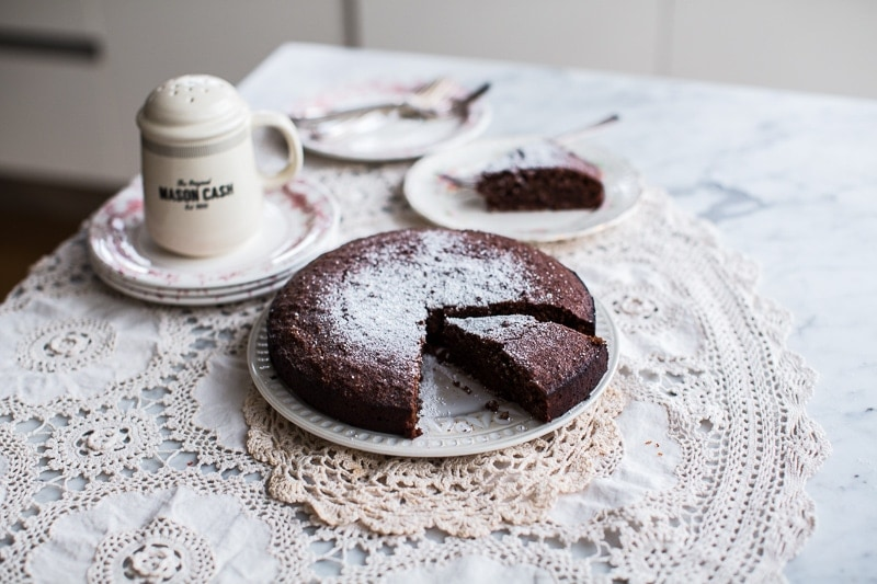 Hazelnut Cacao Cake - Cook Republic #glutenfree #vegetarian