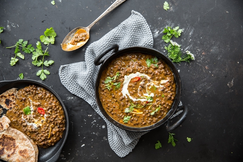 Vegan Dal Makhani (Black Lentil Dal) - Cook Republic