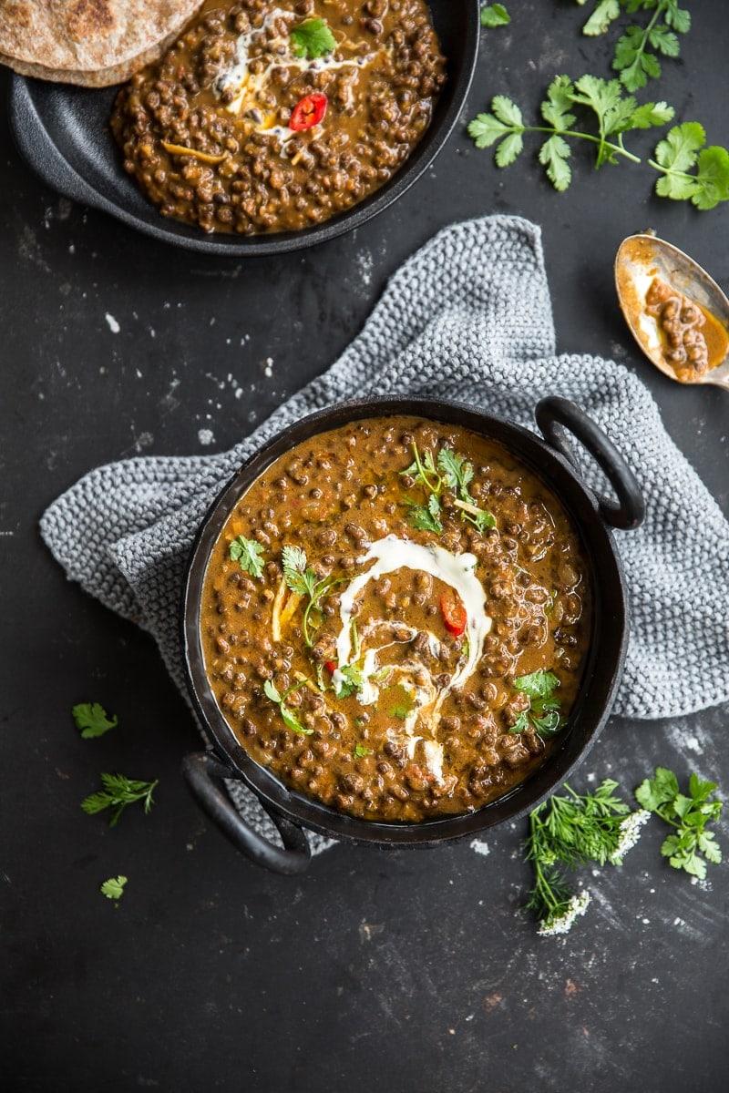 Vegan Dal Makhani Creamy Black Lentil Dal Cook Republic