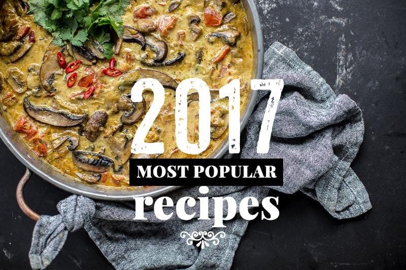 My Most Popular Recipes -2017