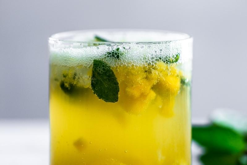 Mango Mojito - Cook Republic #cocktail #recipe #sodastream