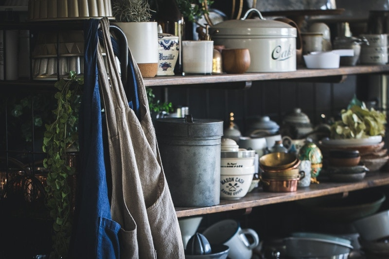 French Linen Aprons - Cook Republic / photo, Sneh Roy