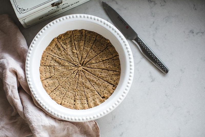 4 Ingredient Unrefined Sugar Shortbread - Cook Republic / photo, Sneh Roy #healthyrecipes #shortbread #foodphotography