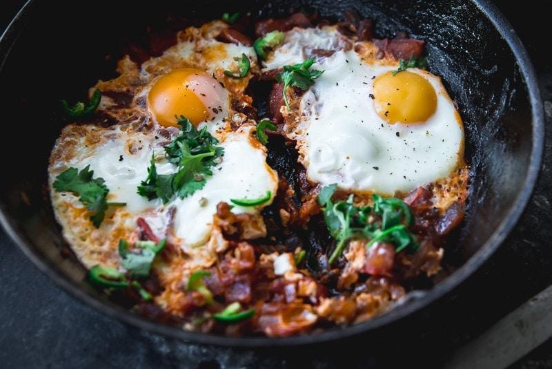 Parsi Egg - Cook Republic #vegetarian #breakfast #foodphotography