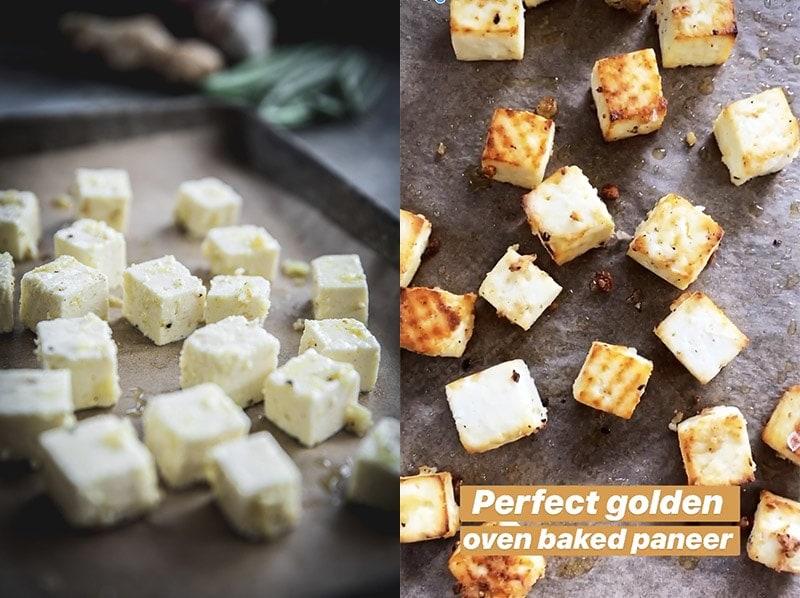 Oven Baked Paneer - Cook Republic