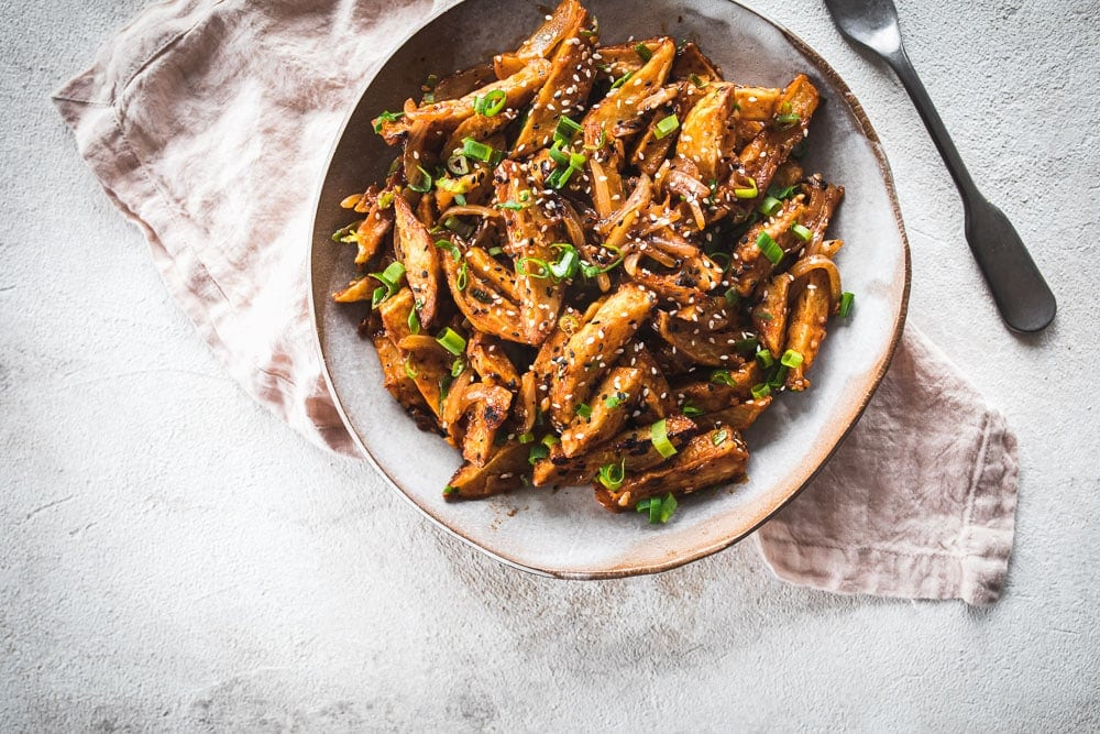 Vegan Chilli Garlic Potatoes - Cook Republic