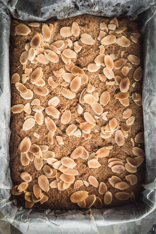 Ginger Almond Slice - Cook Republic #gingerrecipe #gingerslice #slicerecipe
