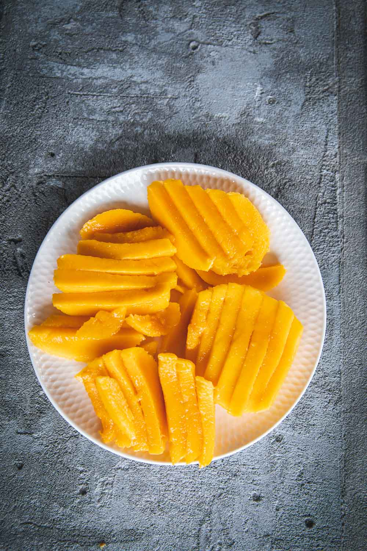 Thai Prawn And Mango Salad - Cook Republic #thaisalad #glutenfreesalad #prawnmango