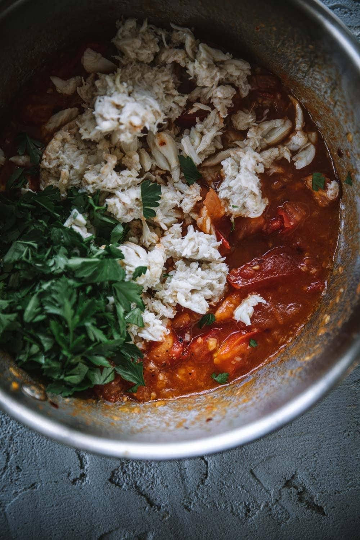Chilli Crab Linguini - Cook Republic