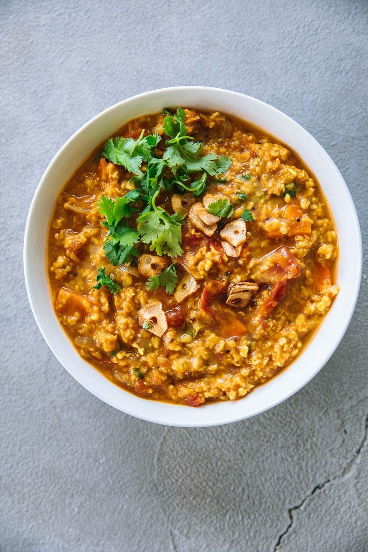 Tomato Garlic Dal - Cook Republic #glutenfreedinner #dalrecipe #vegan