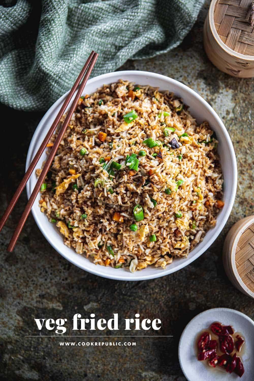 Everyday Veg Fried Rice - Cook Republic
