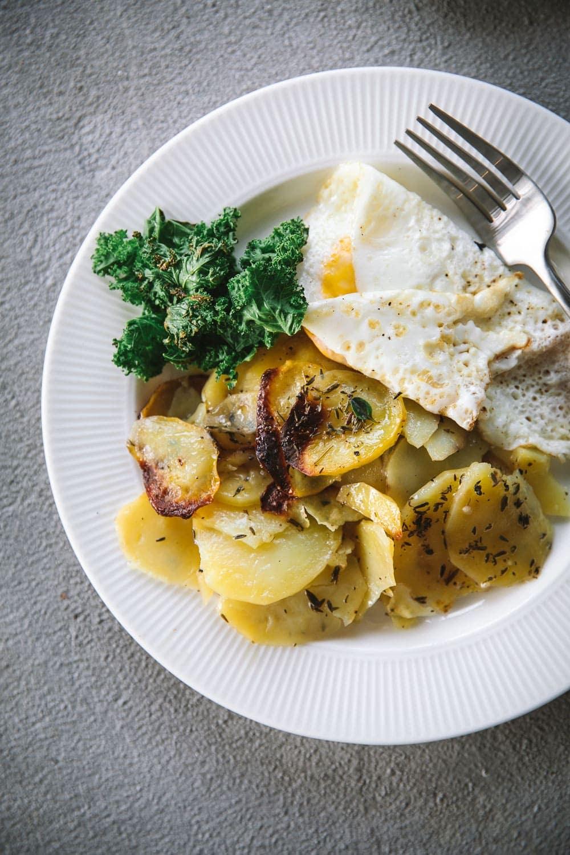 Crispy Vegan Potato Torte - Cook Republic