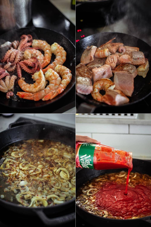 Zuppa Di Pesce - Italian Seafood Soup / Cook Republic #easterrecipe #seafoodsoup #fishrecipeZuppa Di Pesce - Italian Seafood Soup / Cook Republic #easterrecipe #seafoodsoup #fishrecipe