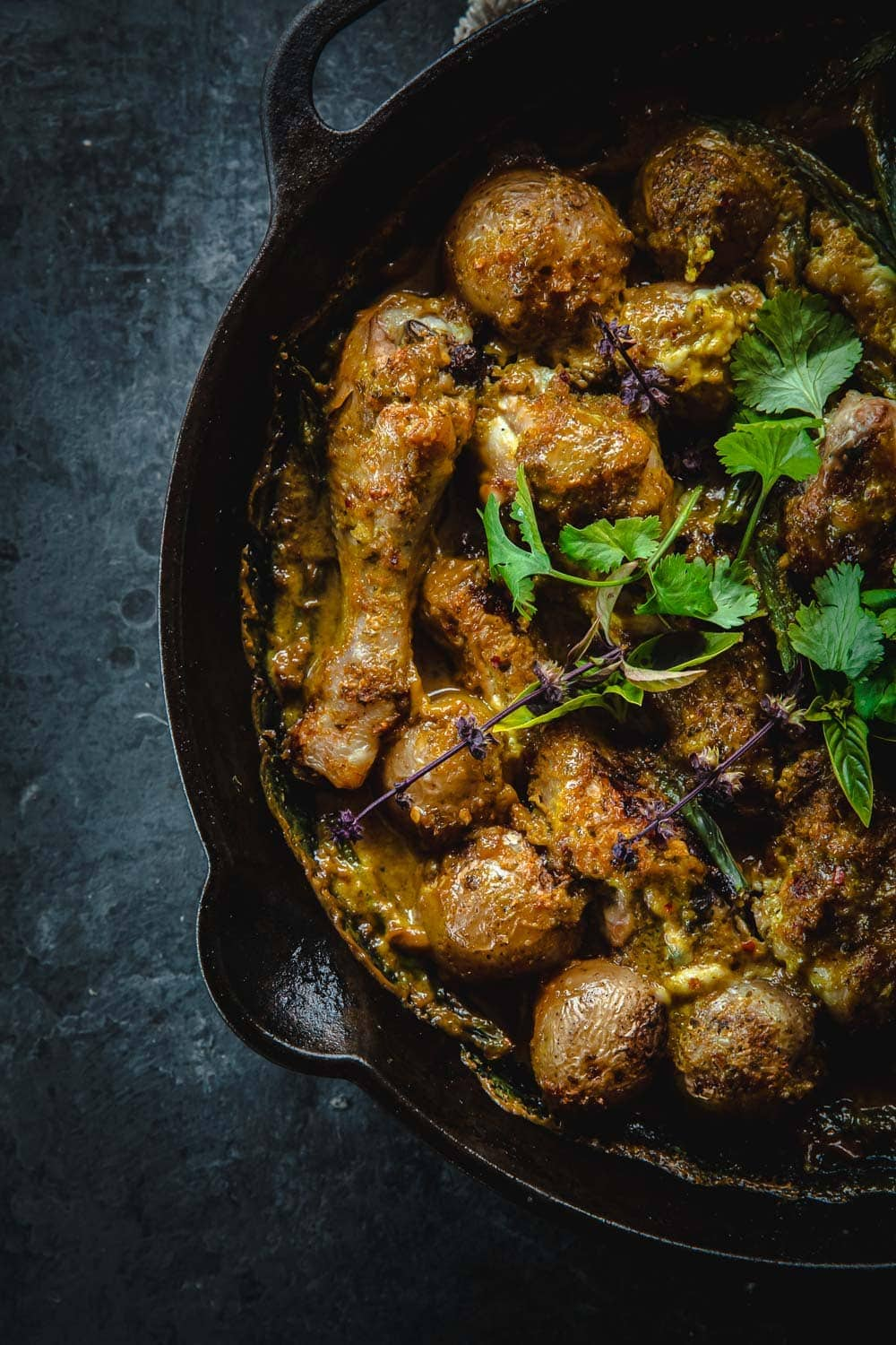 Oven Baked Thai Green Chicken Curry - Cook Republic