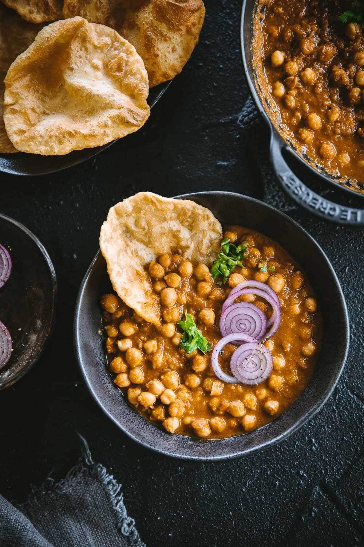 Vegan Chana Masala - Cook Republic