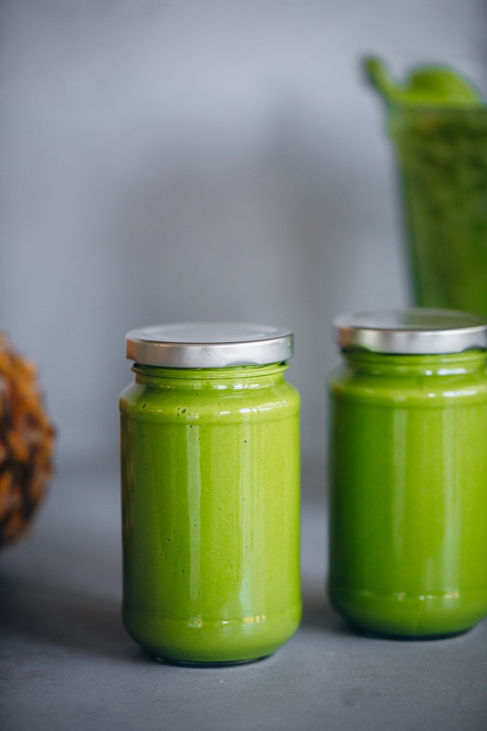 Green Pineapple Smoothie - Cook Republic