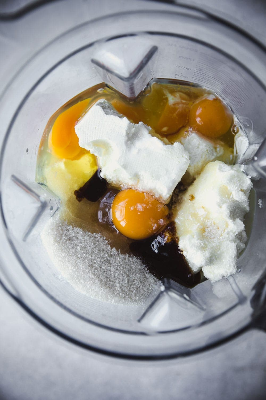 Air Fryer Burnt Basque Cheesecake - Cook Republic #instantpotairfryer #instantpot #burntbasquecheesecake #cheesecake