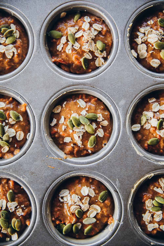 Breakfast Carrot Muffins - Cook Republic