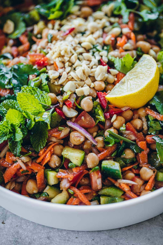 Chickpea Chaat Salad - Cook Republic