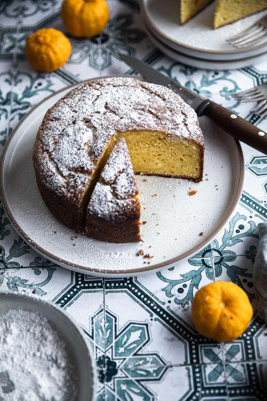 A Good Lemon Ricotta Cake - Cook Republic