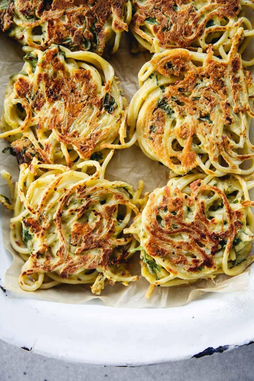 Spaghetti Fritters - Cook Republic