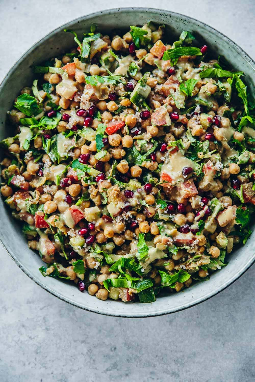 Chopped Falafel Salad - Cook Republic #falafelsalad #vegansalad