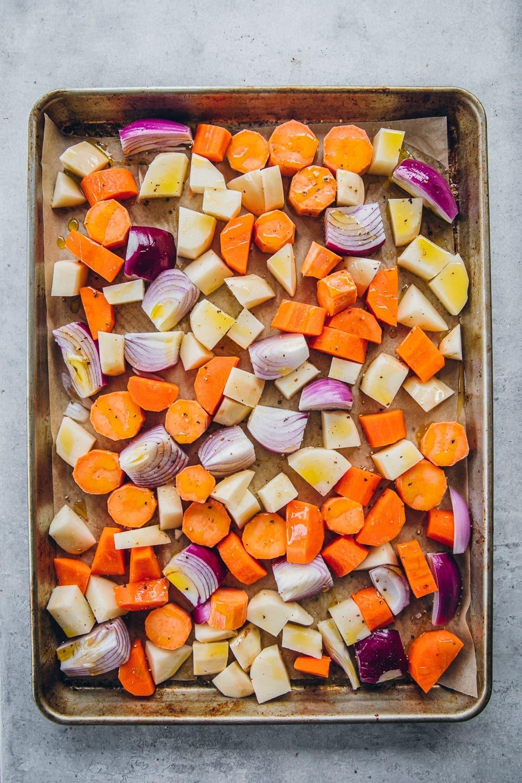 Japanese Miso Roasted Veggies - Cook Republic