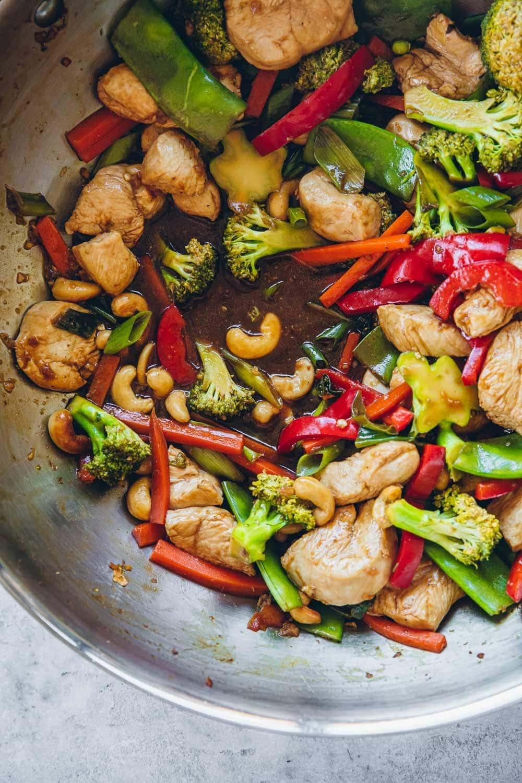 Lighter Chinese Cashew Chicken - Cook Republic