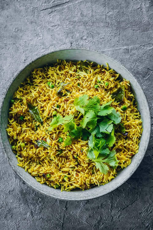 Turmeric Lemon Yellow Rice - Cook Republic