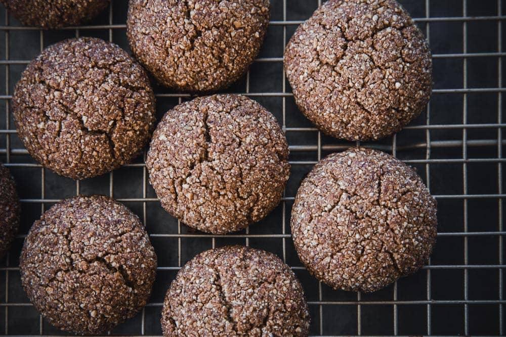 Vegan Coconut Chai Cookies - Cook Republic #vegancookies #chaicookies