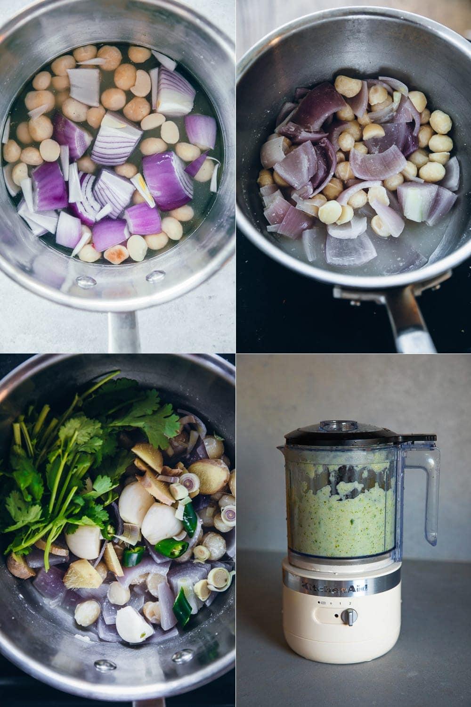 Lemon Myrtle Green Veg Curry - Cook Republic #thaigreenvegcurry #vegcurry #lemonmyrtle