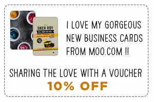 Get 15% Off Your Gorgeous New Business Cards/Postcards/Stickers