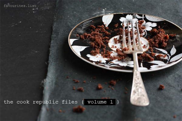 The Cook Republic Files Volume 1
