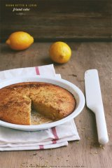 Brown Butter Lemon Friand Cake - Sneh Roy