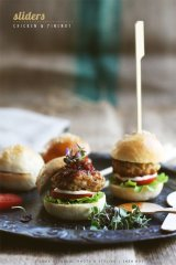 Chicken Sliders - Sneh Roy