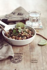 Chickpea Salad - Sneh Roy