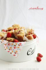 Strawberry Muffins - Sneh Roy