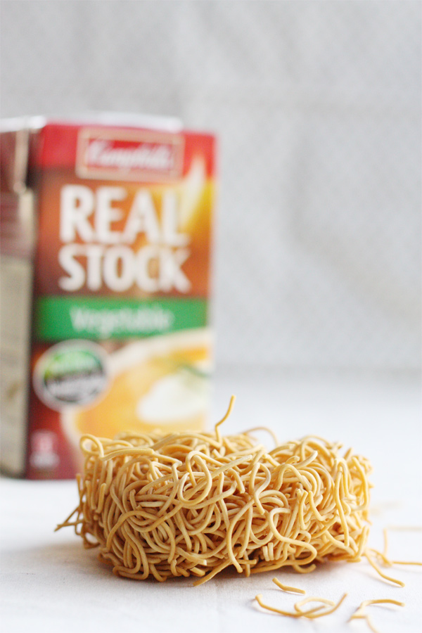 Fried Noodles And Stock