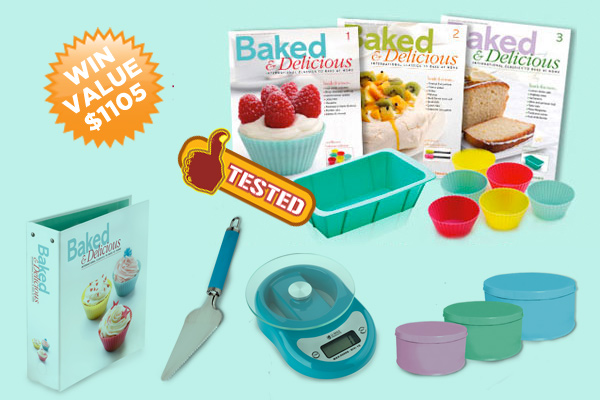 Baked And Delicious Giveaway