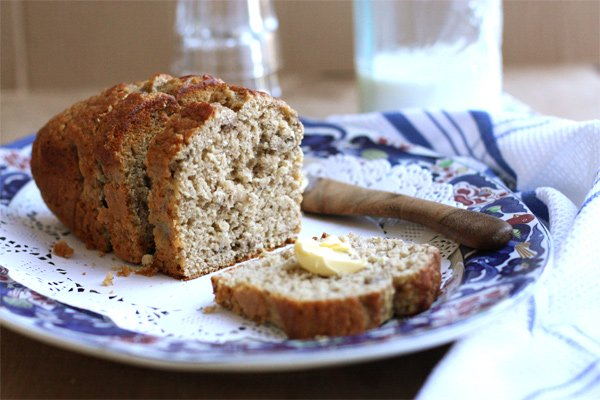Banana And Coconut Milk Bread